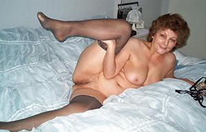 Naked horny older women
