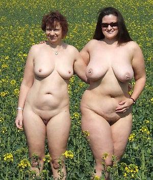 Gorgeous big tit mature lesbians