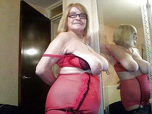 Handsome hot mature mom lingerie