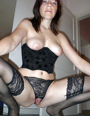 Porn pics of mature lingerie fuck