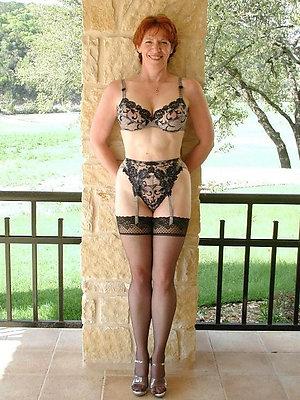 Bitchy amateur mature lingerie pics
