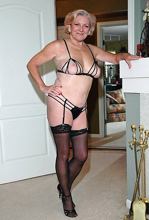 Sweet busty moms in lingerie pics