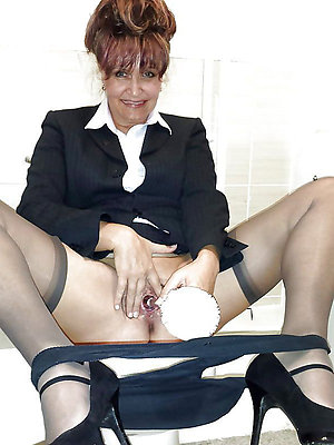Naughty sexy mature women masturbating