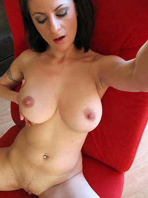 Perfect mature milf wife stripped