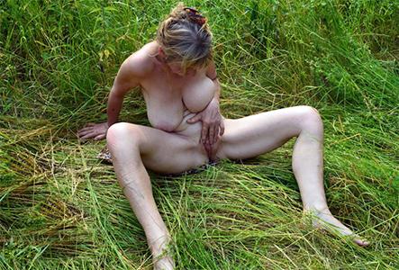 Nude mature outdoor amateur pics