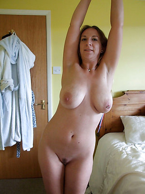 Busty beautiful mature ladies on the nature
