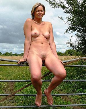 Beautiful ladies nude on the nature