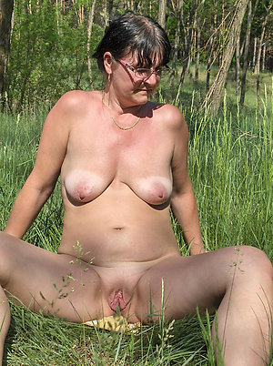 Real pics of nude outdoor mature