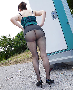 Classy mature and pantyhose gallery