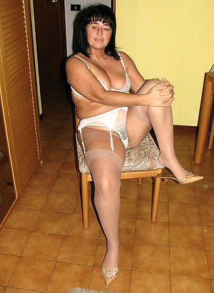 Sweet older women in wet panties