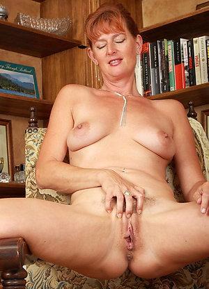 Fantastic mature redhead milf love porn