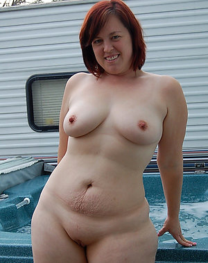 Nude beautiful redhead older women