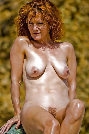 Free naked old redhead women photos