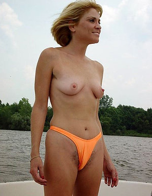 Handsome mature milf small tits