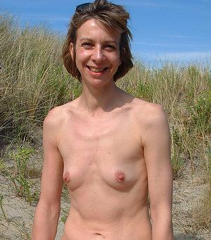 Gorgeous small tits mature women pics