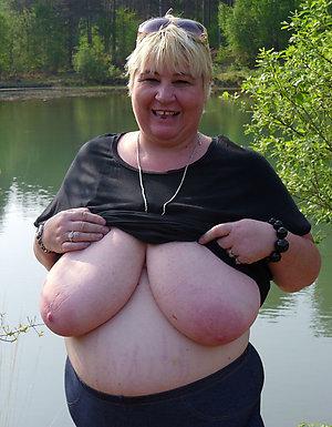 Best pics of mature natural tits