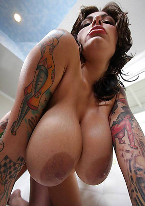Crazy amateur sexy women with tattoo