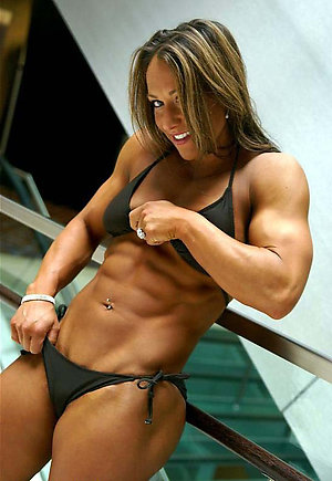 Best pics of mature muscle woman