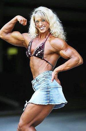 Naughty amateur hotwomen with muscles