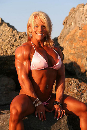 Horny older muscle women pictures