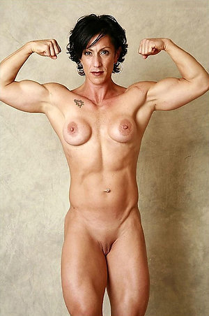 Porn pics of older muscle women