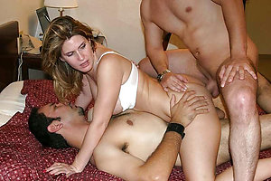 Best pics of mature threesomes porn
