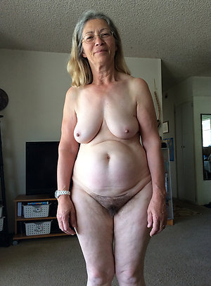 Horny saggy granny tits pictures