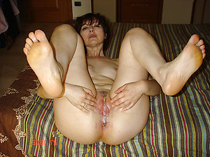 Amateur pics of creampie matures
