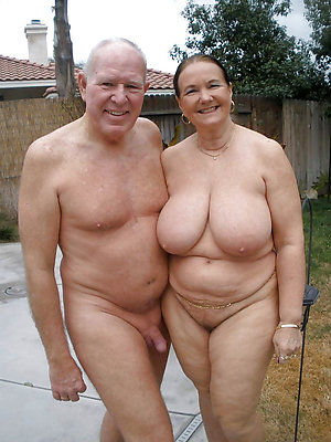 Nude old couples