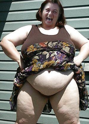 Naked bbw slut wife