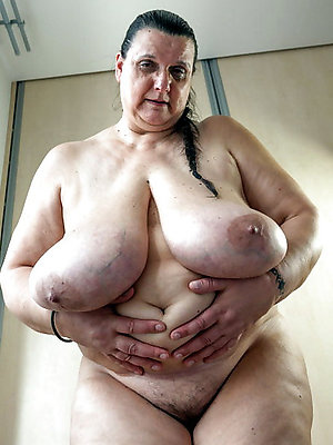 Real fat russian mature