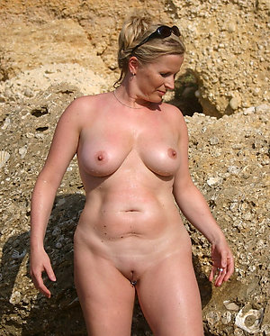 Hot old women on nude beaches