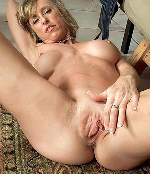 Pretty horny mature housewife