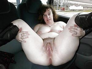 Handsome mature sex in car porch
