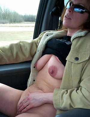 Horny women masterbating in cars