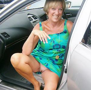 Real sexy mature car porn