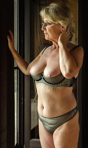 Please mature nude in sexy lingerie the