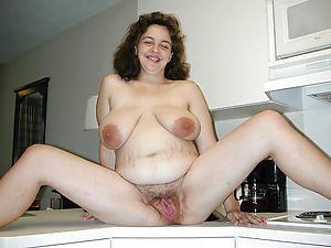 Simmering downcast nude moms