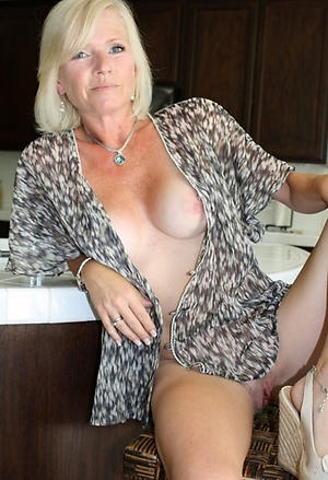 Beautiful blue mature women pictures