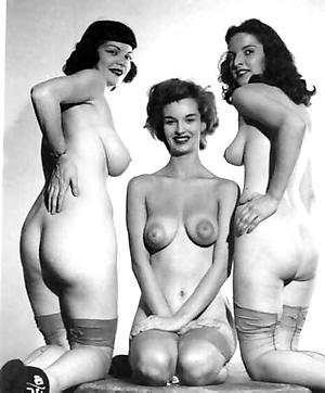 Slutty vintage grown-up boobs