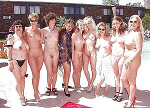 Amazing naked mature groups