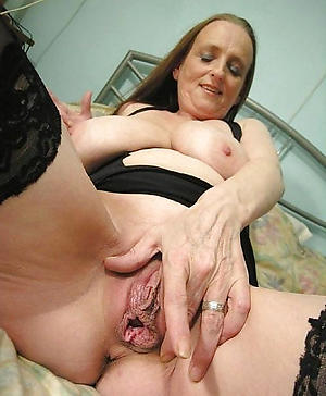 Naked older women masturbating