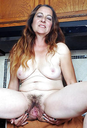 Slutty unshaved nude women