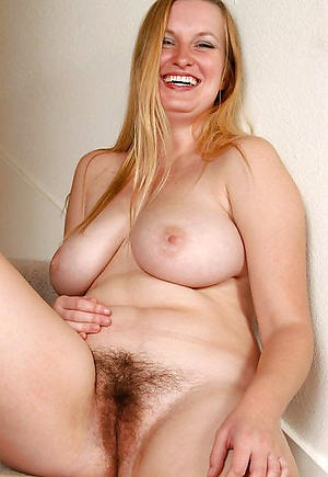 Pretty free busty grown-up nude photo