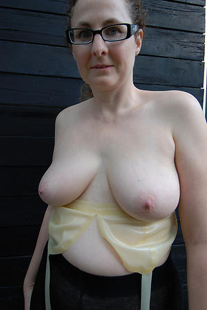 Natural free busty matures