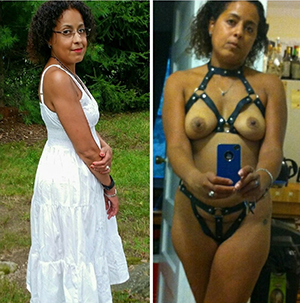 Pics be incumbent on full-grown lady before and after