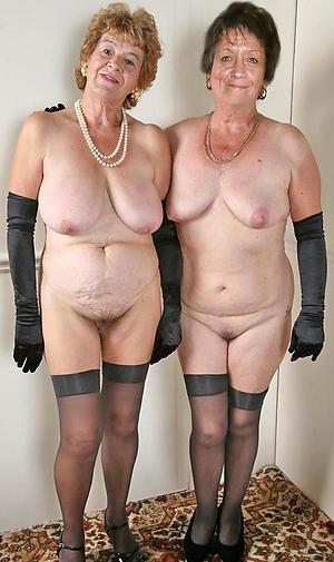 Unfold mature older women