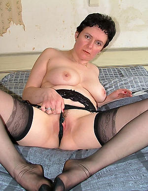 Horny mature brunette cooky