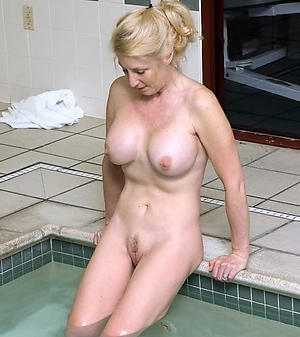 Amazing natural mature breasts