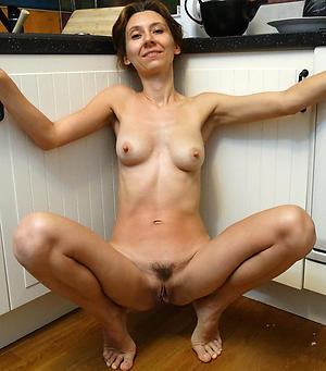 Handsome skinny naked mature women